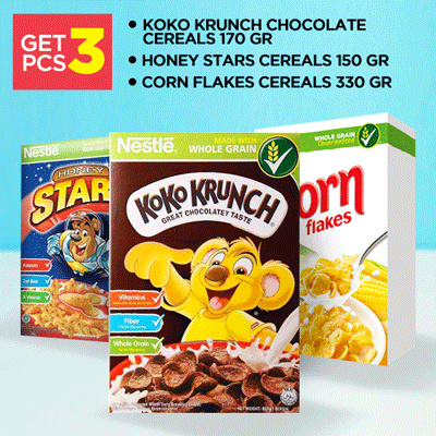 Get 3 Pcs Deals for only Rp107.000 instead of Rp144.595