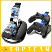 New Style USB LED Fast Charging Stand Dock For Dual Xbox One Game Controller Black With LED Light Fr