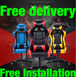 4D GAMING CHAIR * Racer Seat Chair * high back boss chair * ideal chair for study table