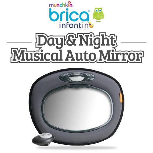 Munchkin Day and Night Musical Mirror