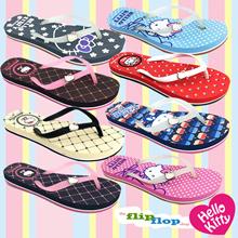 Hello Kitty Ladies Comfort Slippers