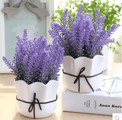 qoo10 - creative simulation small potted plant simulation flower