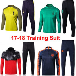2017-2018 Training Suit Arsenal/Chelsea/Real Madrid/Barcelona/Manchester United/Juventus Sweater