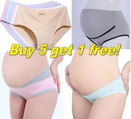 Buy 5 get 1 free! Many designs/maternity underwear/maternity panties/maternity pants/panty