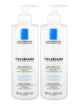 La Roche-Posay Toleriane Dermo Cleanser 2 x 400ml