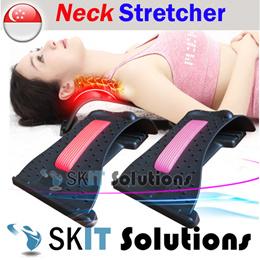 Neck Shoulder Back Magic Stretcher Massager Relaxer★Lumbar Spine Stretch Massage Relieve Pain★