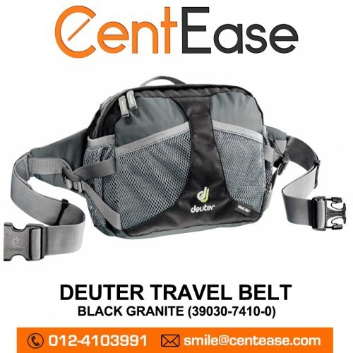 8e7dcfd583623 Qoo10 - Deuter Travel Belt With Padded Back - Black Granite (39030 ...