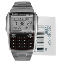 Casio Databank Calculator Watch, DBC-32D-1ADF, DBC-32D-1A