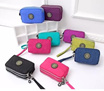 BUY 5 IN 1 SHIPPING!!! 2017 Latest Korean Trendy/ Cute / Colorful / zipper coin  multipurpose purse