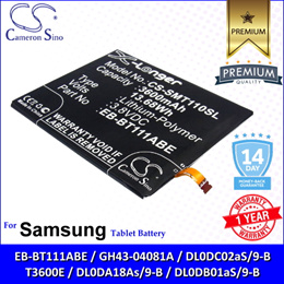 Original CS Tablet Battery Model SMT110SL For Samsung Galaxy Tab 3 Lite 7.0 SM-T110 T110 Battery