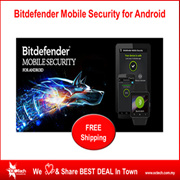 Bitdefender Mobile Security for Android  (1 Year 1 Device)