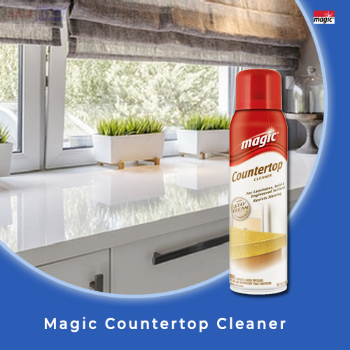 Qoo10 Magic Countertop Cleaner 17oz For Laminate And Other Engineered Soli Household Bedd