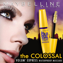 Maybelline Volum  Express The Colossal Washable Mascara - #Classic Black 9.2ml