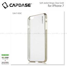 Capdase Original Soft Jacket Verge Clear Cover Casing For IPhone 7