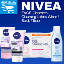 【Nivea】 Facial Wash / Toner / Cleansing Wipes / Scrub / Cleansing Lotion●