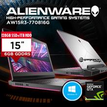 ALIENWARE AW15R3-770816G GTX1060 i7-7700HQ/8GB DDR4/128GB SSD+1TB HDD/NVIDIA GTX1060 6GB GDDR5 G-S