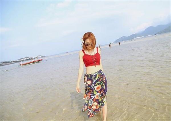 レディーススカート ビーチロングスカート プリント ボヘミア風 ファッション ハイセンス 着心地いい おしゃれ 夏 レディーススカート