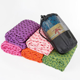 Yoga thickening widened yoga mat towel paving blanket more padded cloth pad towel anti-slip mat