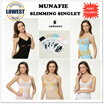 **Premium Quality** Japan Munafie Slimming Singlet - 5 Colours  2 Sizes *LOCAL SELLER*FAST SHIPPING*