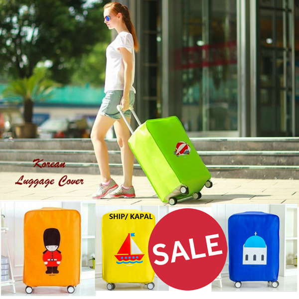 Luggage Cover Fun Traveler | Sarung Penutup | Pelindung Koper Travel Deals for only Rp49.000 instead of Rp49.000