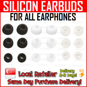 ★SG SELLER★ Ear Buds / Earbuds / Tips Replacement / Silicon Rubber / AKG / Sony / Samsung / Apple / ..