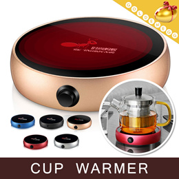 Free Gift Adapter▶Electric Thermal Insulation Seat-Cup Warmer◀GDA-Heat Preservation/ Electric heater pad/ Warm Your Stomach/For Your Health/Tea/Milk/Coffee/5 Colors/SD-01