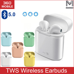 Bluetooth Wireless Earphones Earbuds Earpiece iPhone Huawei Samsung Xiaomi i7 i11 i12