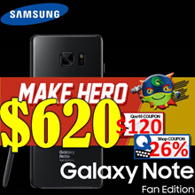 Samsung Galaxy Note FE | Dual Sim | Export Model| Malaysia Set| No Local Warranty