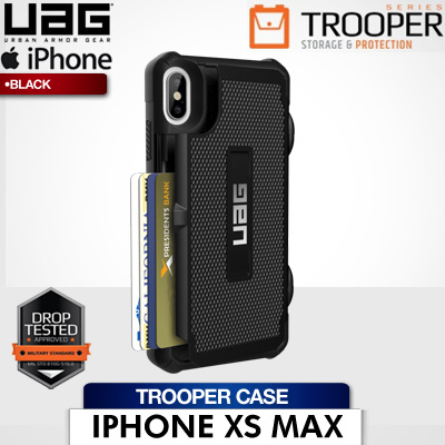 new arrivals 66f66 7bbb1 UAGUAG iPhone Xs Max 6.5 Trooper Case (Black) 1 Year Local Warranty