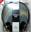Headset / Headphone Sony MDR XB800 - Extra Bass + Mic  Call Button SMA SJA56237263782 SJ0041 k003
