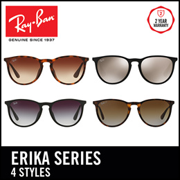 a736bf5a80 Ray-Ban Sunglasses Erika RB4171F - Size 54 - Popular - 4 Frames available.