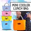 Iconic Insulated Lunch Bag Tas Simpan Hawa Dingin Makanan Bag Fashion