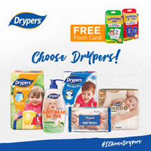 [Apply Qoo10 Coupon] Drypers Wee Wee Dry/Drypantz/Touch/Diapers/Tape/Pants/Baby