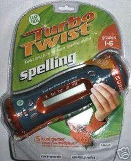 Leap Frog Int. Turbo Twist Leap Frog Spelling.