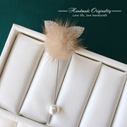 South Korea female temperament lovely Brooch accessories mink wool sweater decorative brooch pin pin