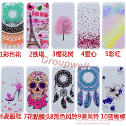 One Plus 5/iPhone 5/5S/SE Cute Jelly Cover Case  23422