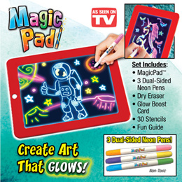 Kids Magic Drawing Board Children Painting Tools Coloring Pad Set Baby Early Learning Educational