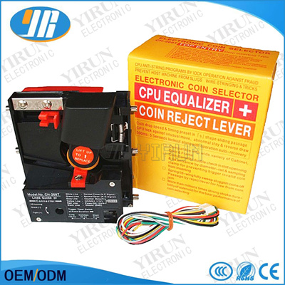 Top Entry CPU Coin Acceptor Selector CH-268T Mechanism for Arcade parts