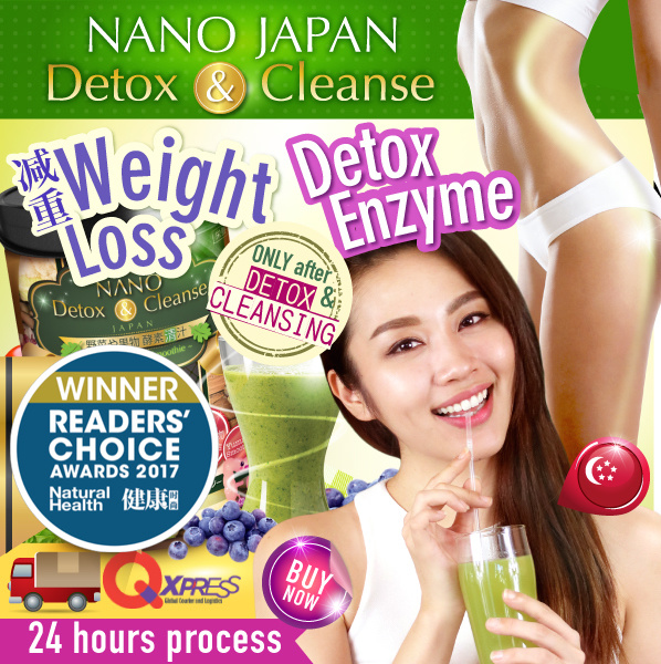 [3-DAY! $10 CASH BACK*+FREE* GIFT!] ?NANO DETOX DAY ENZYME?FAST WEIGHT-LOSS Deals for only S$48.8 instead of S$0
