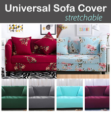 22nd July new arrivals!【Universal Sofa Cover! 】Stretchable flexible and fit!