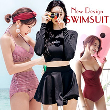 Swimming Wear Swimwear Long Sleeve Swimsuit Sports Wear Surfing Fitness Women
