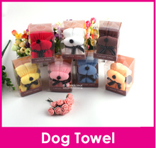 Dog Towel Children Day Present Birthday Party Favor Idea Christmas Gift