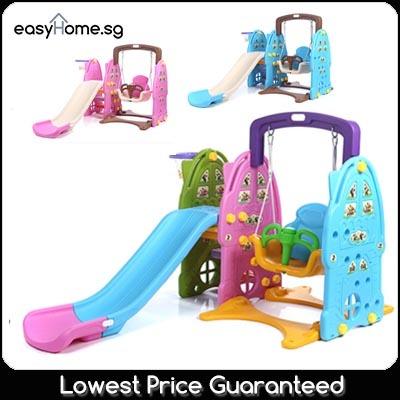 Swing Slide / 163cm 140cm 5 in 1 Rocking Bear / Children Kids Baby Playground Indoor Outdoor Deals for only S$288 instead of S$0