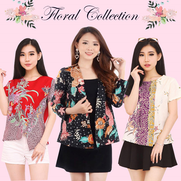 [FREE SHIPPING] FLORAL BATIK Deals for only Rp75.000 instead of Rp115.385