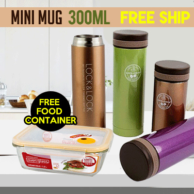 Buy Mini Mug 300Ml Get Free Food Container Deals for only Rp251.000 instead of Rp251.000