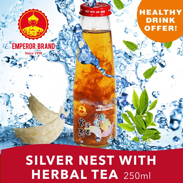 [Healthy Drink] Silver Nest with Herbal Tea 250ml Promo!! Deals for only S$5.9 instead of S$0
