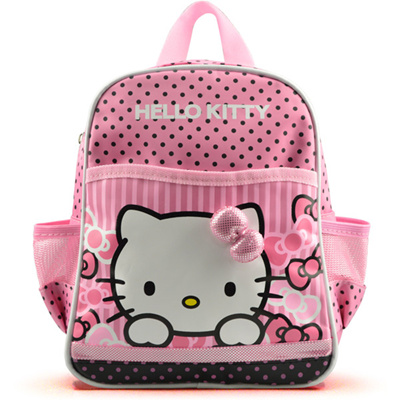 6eec314a6 Korean style small pink Hello Kitty bag nursery children school bag