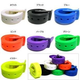 Plastic buckle trousers / mens Korean golf belt non-metal security belt womens candy color