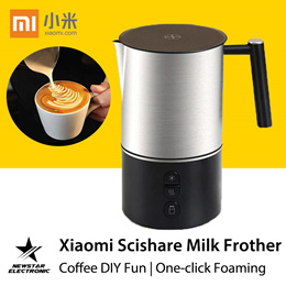 Xiaomi Scishare Electric Milk Frother Cappuccino Shaker Steamer Jugs Machine Pitcher Automatic Foam