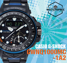 *CASIO GENUINE* Casio G-Shock Gulfmaster Series Composite Band Watch GWNQ1000MC-1A2. Free Shipping!